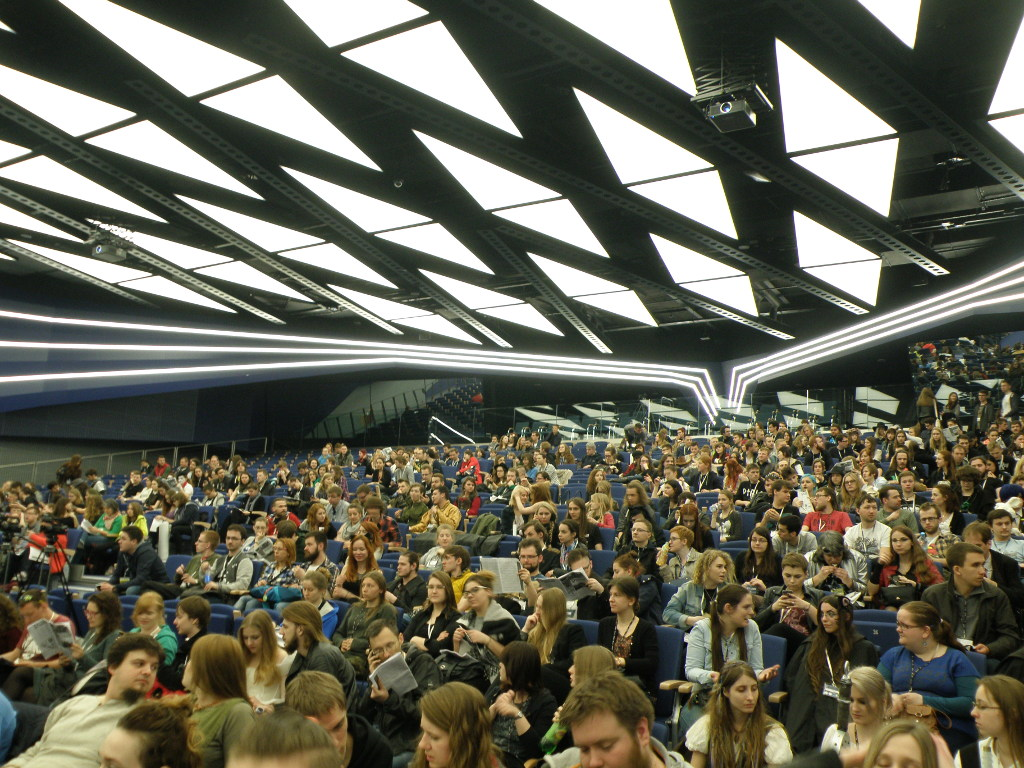 Pyrkon 2016 main auditorium