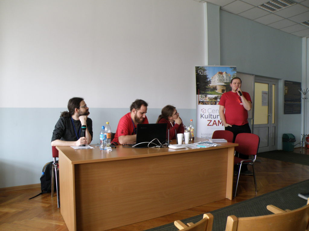One of the panel discussions