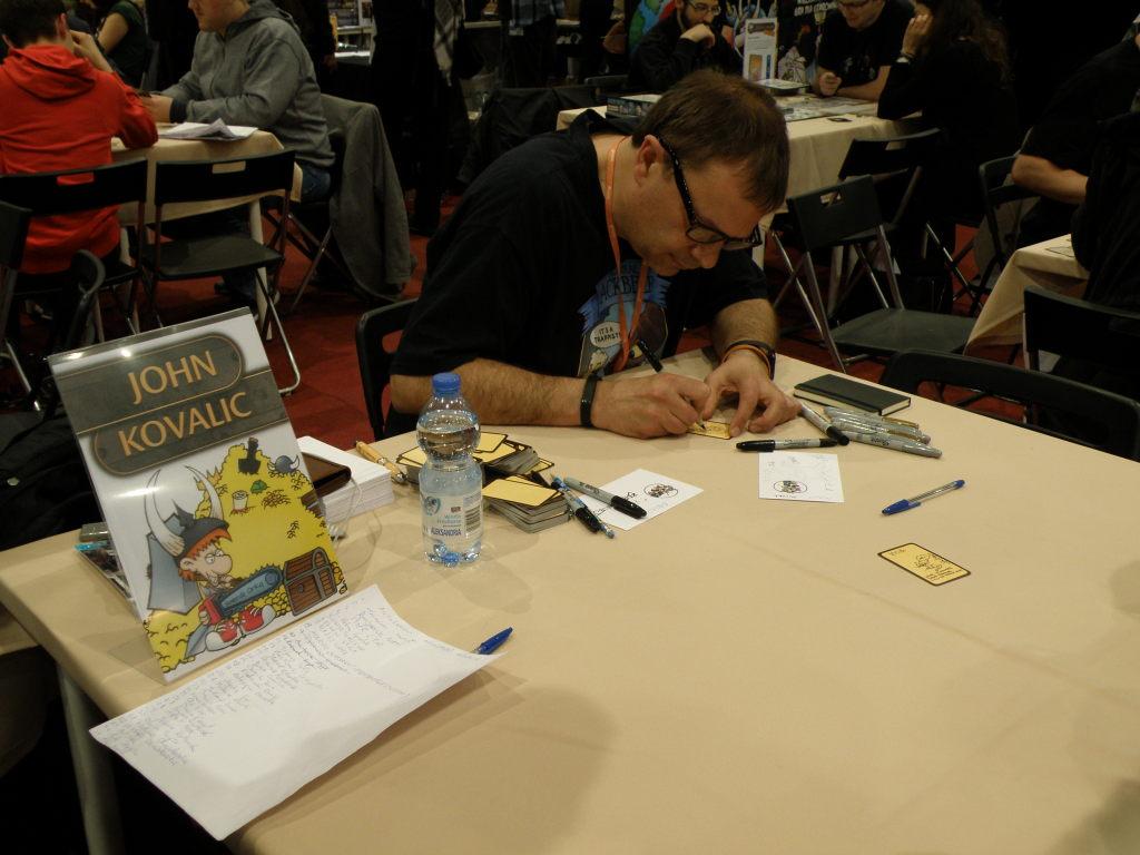 John Kovalic signing session