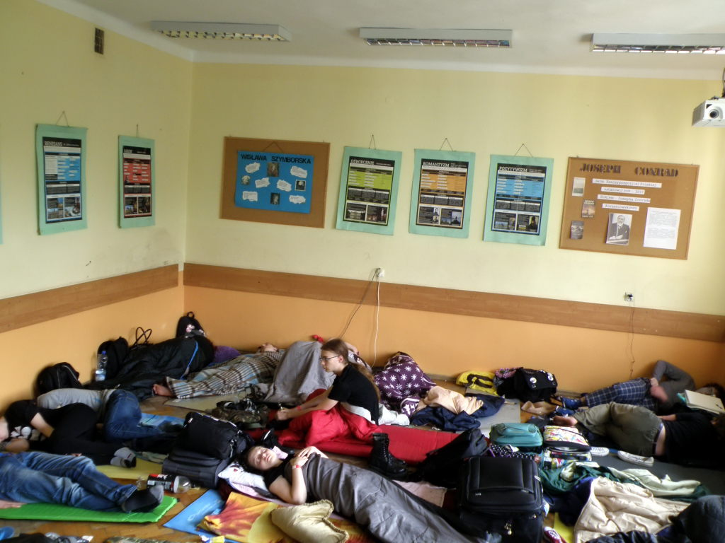 Sleeping Room on Saturday morning