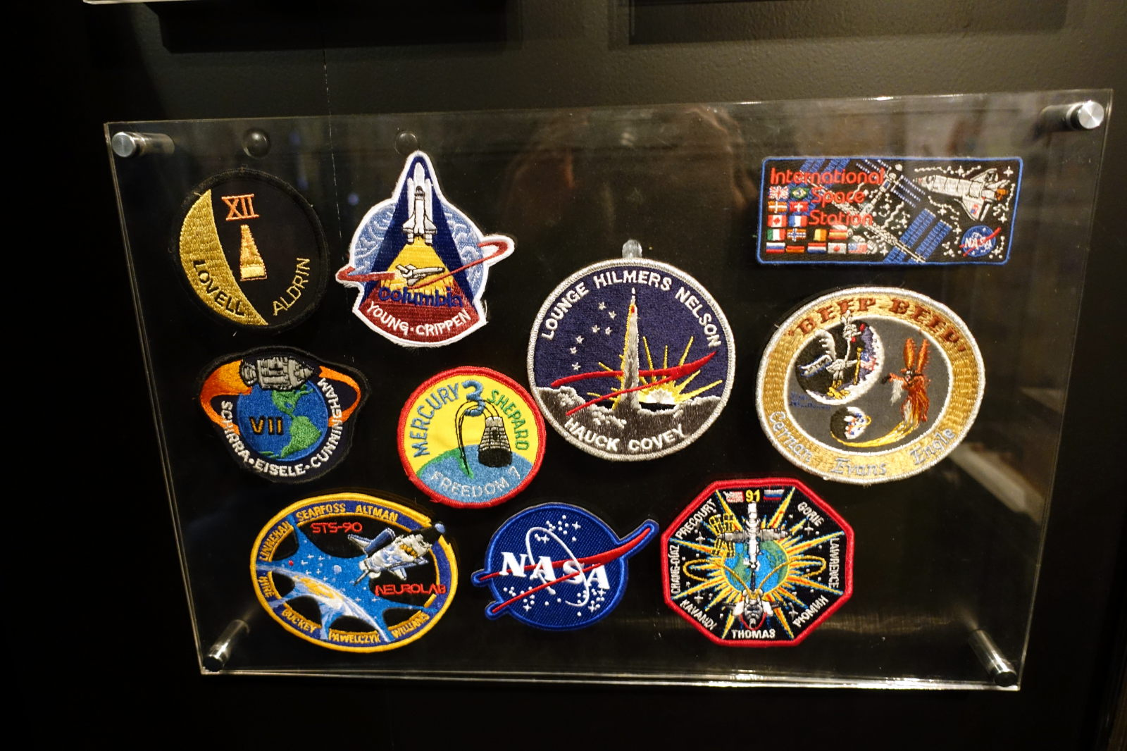 CDSCC Space programs' patches
