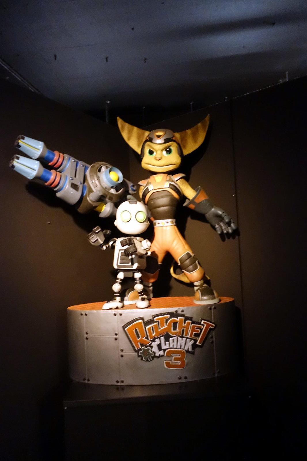 Ratchet & Clank figure