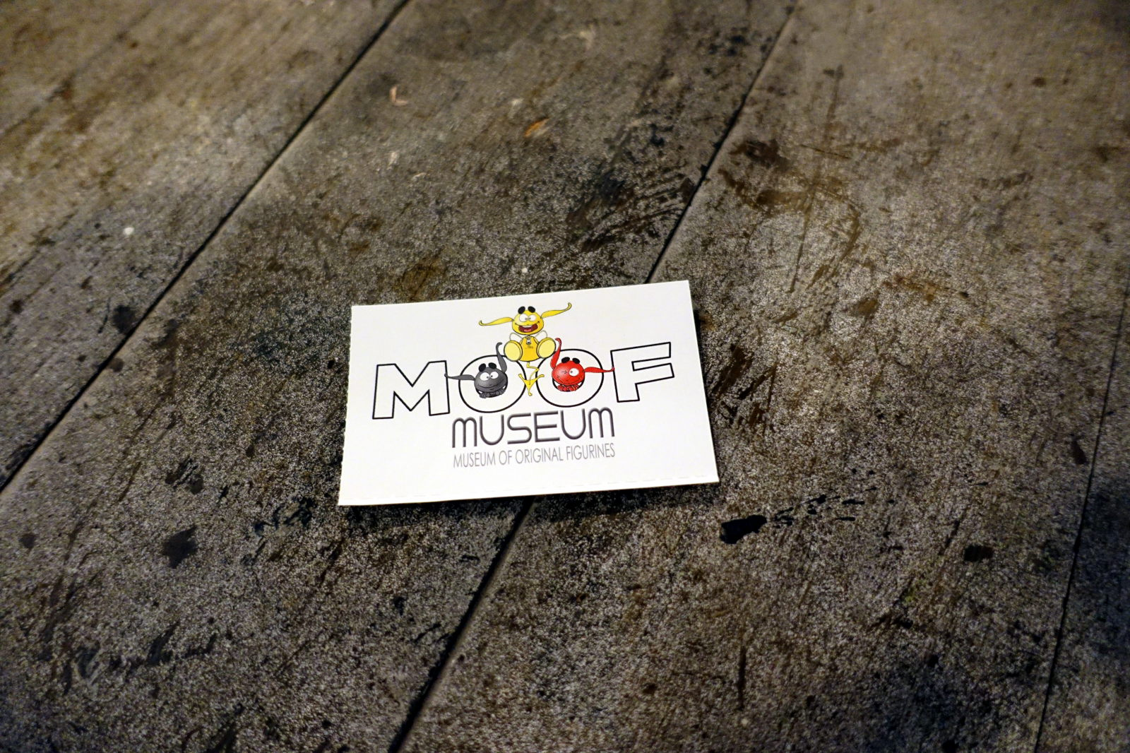 Ticket to MOOF