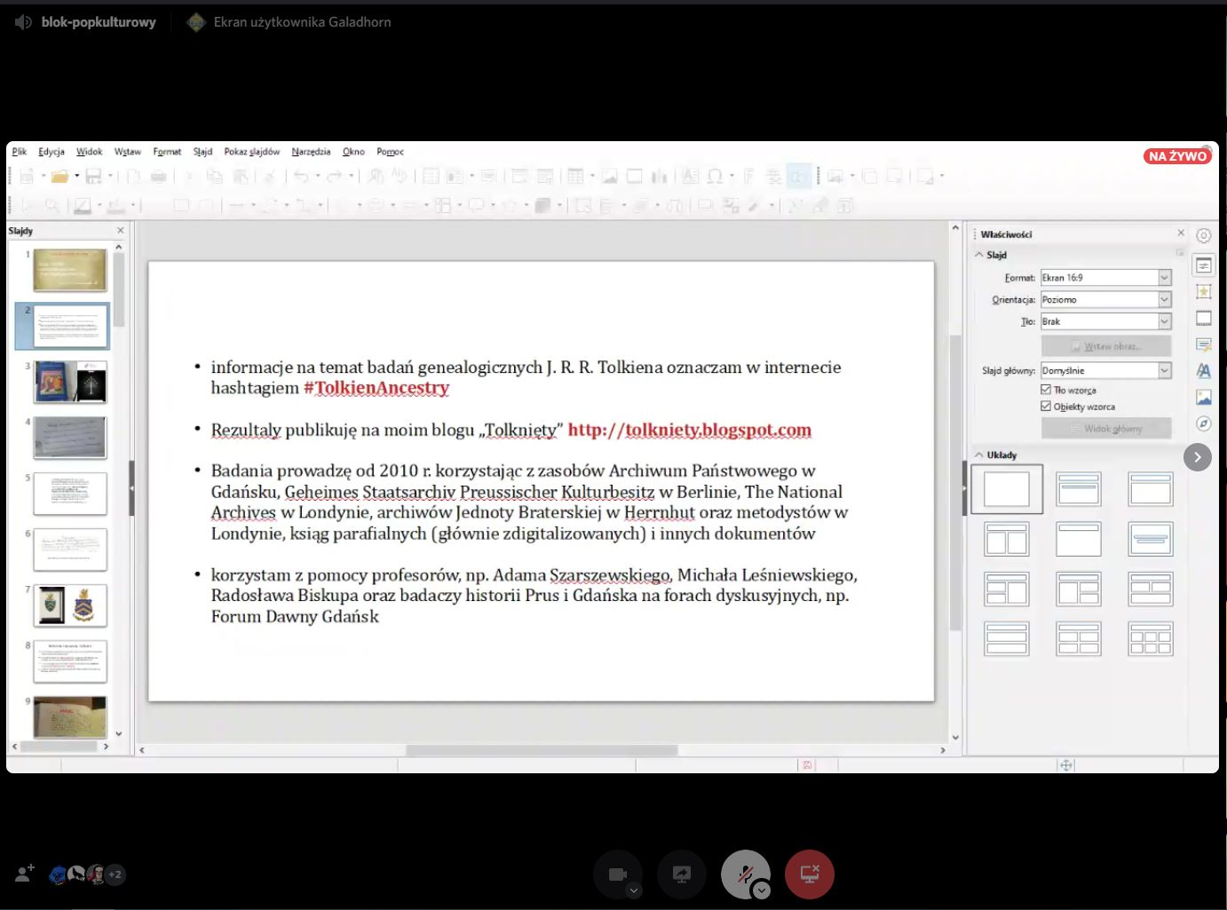 A presentation in powerpoint with a lot of text.